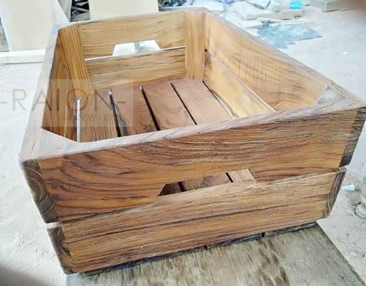 Nampan Kayu Crate