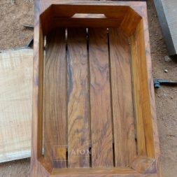 Crate Nampan Kayu