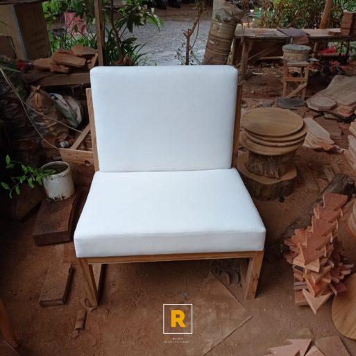 Wooden Chair - Kursi Tamu Kayu